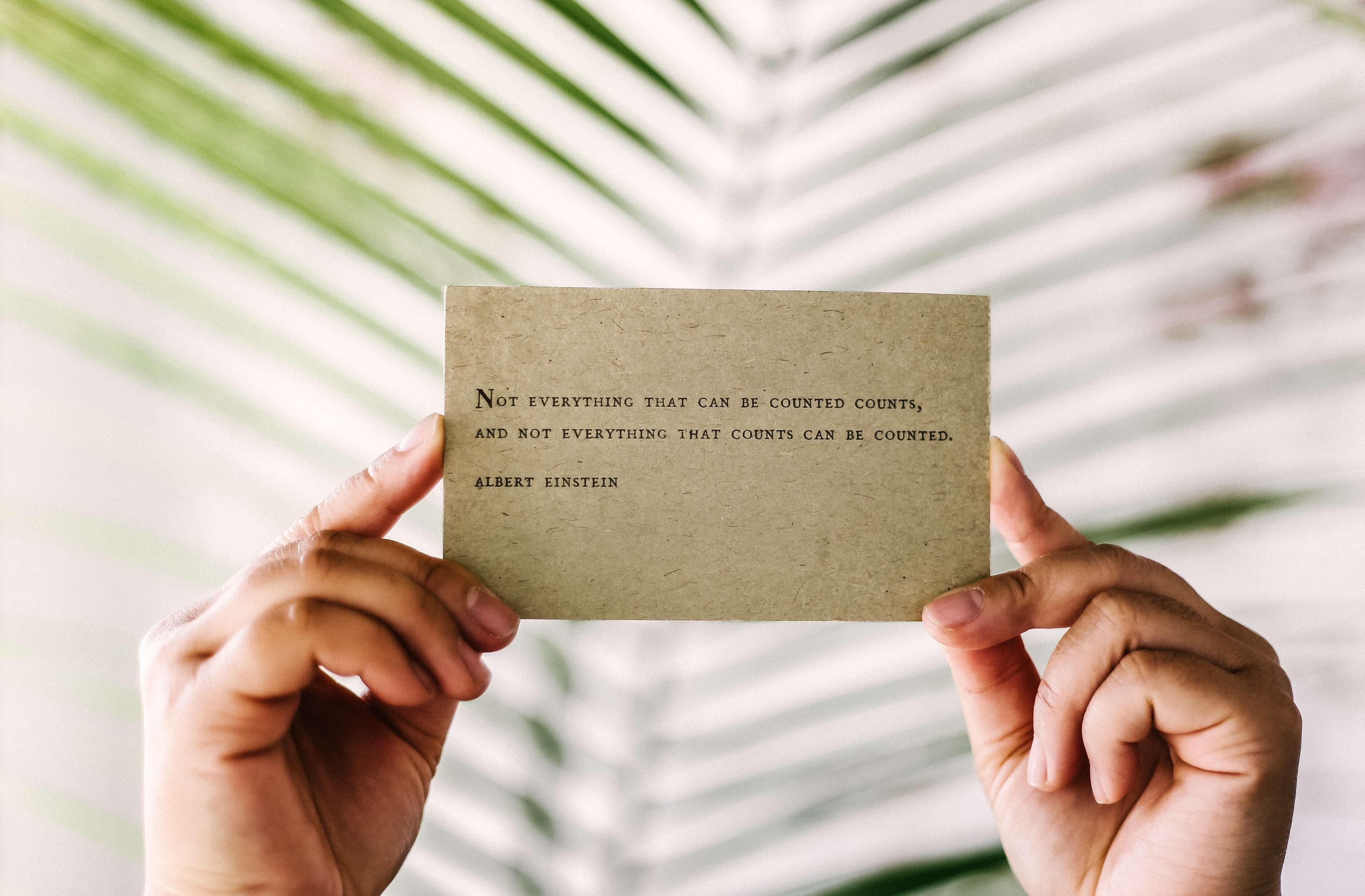 Perfekte Visitenkarten sind der Schlüssel zum Erfolg